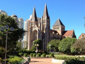 Getting Technical in the CBD at St John's Cathedral